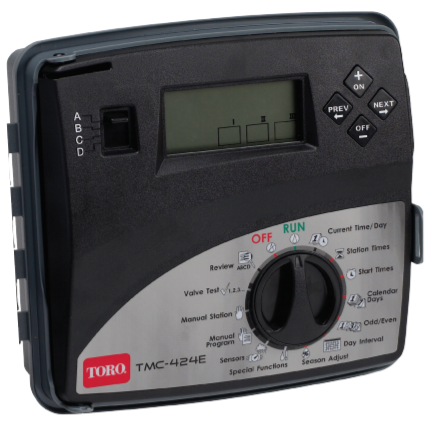 Toro TMC-424E TMC 424 Series Sprinkler Controller - Indoor and Outdoor