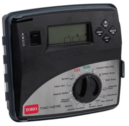 Toro TMC-424E TMC 424 Series Sprinkler Controller - Indoor or Outdoor