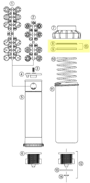 hunter 253400 seal replacement kit for pgp rotors rh evergreensprinklers com Hunter I-20 Irrigation Hunter I-20 Nozzles